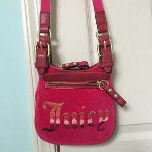 JUICY COUTURE VELOUR Handbag